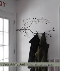 Branch Wall Coat Rack Impressive Tree Branch Wall Decor Vinyl Wall Decal Tree Limb Decal Woodland