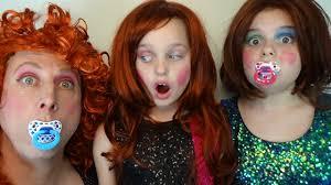bad baby dress up makeup fail victoria annabelle freak daddy toy freaks world makeup tutorials