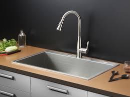 ruvati 33 inch x 22 inch drop in topmount 16 gauge zero radius stainless steel kitchen sink single bowl rvh8001