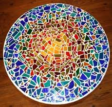 diy mosaic table i have made several mosaic tabletops they are so easy and fun the diy mosaic table