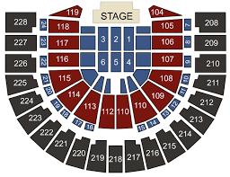 Cox Pavilion Las Vegas Nv Seating Chart Stage Las