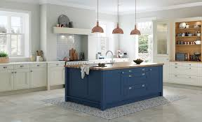 wakefield painted kitchen in mussel parisian blue