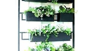 vertical wall planters outdoor planter decoration wonderful pallet garden intended hang