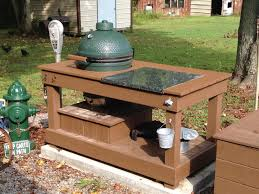 glamorous plans for large green egg table of big green egg outdoor
