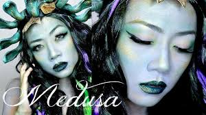 medusa makeup tutorial last minute costume idea miss yanyi beauty