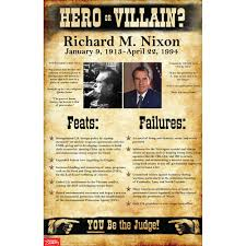 oliver cromwell hero or villain essay villain essay doorway  richard m nixon hero or villain mini poster american history richard m nixon hero or villain