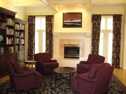 Living Rooms With Area Rugs Living Room Red Backbutton Sofa With Black Base Parquet Flooring