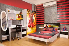40 Kids Bedroom Design With Spiderman Themes Home Design And Interior Unique Themes For Bedrooms Set Property