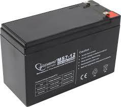 <b>Аккумулятор для ИБП</b> 12V 7Ah <b>Gembird</b> MS7-12 — купить в ...