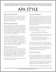 Apa Referencing Style Guide 6th Edition Pdf