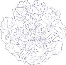 Lotus Pattern Amazing Decorating
