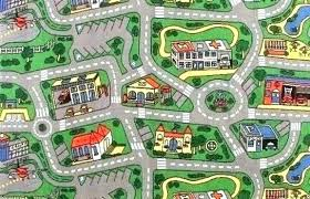 kids road map rug black and white car rugs city play mat boot rugby