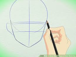 how to draw anime heads step by step for beginners. Interesting Step Image Titled Draw Manga Faces In Basic Sketching Step 6 Throughout How To Anime Heads By For Beginners E