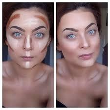 maquillaje makeup contour and highlight