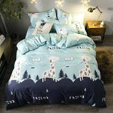 yorkshire linen childrens bedding cartoon giraffe rabbit panda dog sets kids baby home improvement engaging children