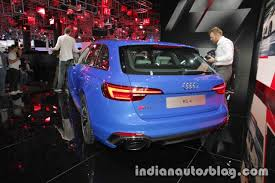 2018 audi van. exellent 2018 2018 audi rs4 avant rear three quarters at the iaa 2017 in audi van