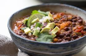 Simple Instant Pot Vegan Black Bean Chili Kitchen Treaty