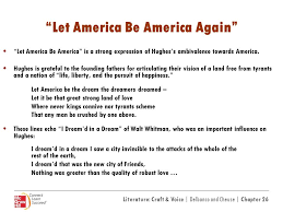 america be america again essay let america be america again essay