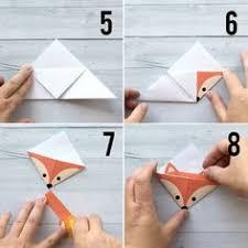 diy woodland s origami bookmarks print fold พ บผ า bookmark template origami bookmark and corner bookmarks
