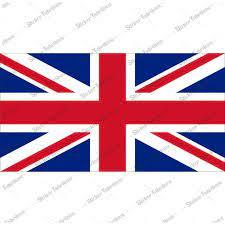 İngiliz Britanya Birleşik Krallık İngiltere Bayrağı Sticker 00714 Fiyatları  ve Özellikleri