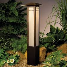 image of kichler outdoor landscape lighting