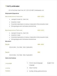 Basic Resume Examples For Students Resume Examples For It Jobs ...