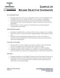 The Best Objective Statements For Resume