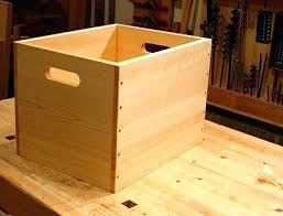 Large Wooden Boxes To Decorate How To Make A Wooden Box With Hinged Lid How To Decorate A Wooden 54