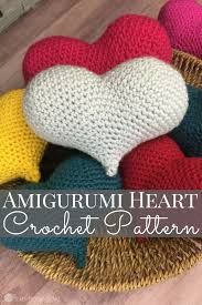 Crochet Heart Pattern Free Unique Amigurumi Love Heart Free Crochet Pattern