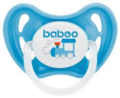 <b>Пустышка</b> силиконовая ортодонтическая <b>baboo</b> Transport 0+ м (1 ...