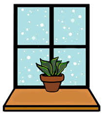 school window clipart. Brilliant School Full Version Of Snowing With Plant On Window Sill Clipart Graphic Black And  White Library To School C