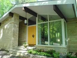 mid century modern front porch. Midcentury Gorgeousness In Milford, PA Mid Century Modern Front Porch W