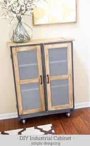ikea industrial furniture. DIY Industrial Cabinet Hack Ikea Furniture I