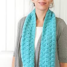 Crochet Scarf Pattern Free Fascinating Basic Crochet Scarf Patterns Free Crochet And Knit
