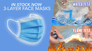<b>Disposable Face</b> Masks: <b>3 Layer Surgical</b>-Style Non-Medical Masks ...