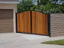 Small Picture Metal And Wood Fence Ideas ideas with Ideas combine block wall