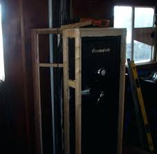 safe built into wall build a closet around your safe safe built into wall
