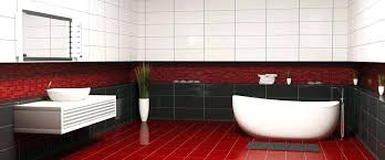 red and grey bathroom red grey bathroom plumbing tiling services logo stylish modern bathroom in deep red and grey bathroom
