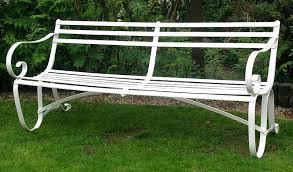 wrought iron garden furniture. Wrought Iron Garden Furniture Bench Home Designing Inside Decorations 5