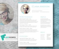 Graphic Resume Templates Cool 48 Free Resume Templates [ PSD Word ] UTemplates