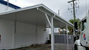 flat roof carport with carports frame aluminum metal kits portable buildings for diy barn large size