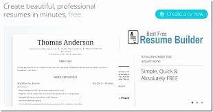 Cool Free Resume Builder Resume Design