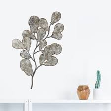 tree branch leaves metal art wall d cor on metal wall art tree branches with metal wall art tree branches wayfair