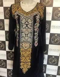 Waseem Noor Designer Waseem Noor Wn005 Velvet Handwork