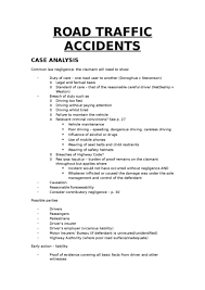 road traffic accidents oxbridge notes the united kingdom road traffic accidents notes