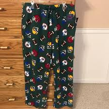 Nwt Croft Barrow Brushed Fleece Pajama Pants