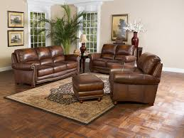 Living Room Chair With Ottoman Bedroom Fantastic Living Room With Leather Sofa Bed Furniture