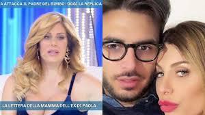 Paola Caruso in lacrime a Domenica Live dopo il parto: 'Il ...