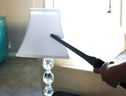 How To Clean Lamp Shades Gorgeous Clean Lamp Shades How To Clean A Lamp Shade Fall Cleaning How To