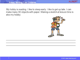 essay writing for children ppt video online  4 my